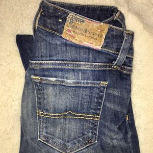 Ralph Lauren denim supply Straight leg jeans